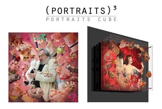 portraits3 INNOVATION PHOTO (MAC 2012) - (portraits)³ >  portraits numériques tridimensionnels