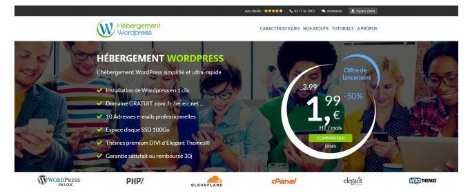 Hébergement WordPress