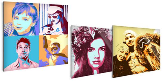 portait Pop Art personnalisé