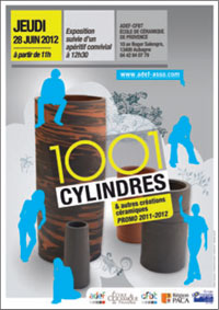 cfbt-1001cylindres 1001 cylindres et autres créations à l'Ecole de céramique de Provence
