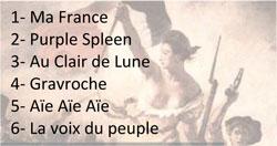 chahla-titres CHAHLA : sortie de « Ma France » en juin 2013