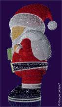 Pere Noel par Leblanc