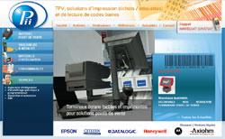 pii-p-web PERI INFORMATIQUE INDUSTRIES          («PII») et PERIMATIC ont décidés d'associer leurs compétences          en vue de distribuer en France la gamme de terminaux point de vente SAGA.