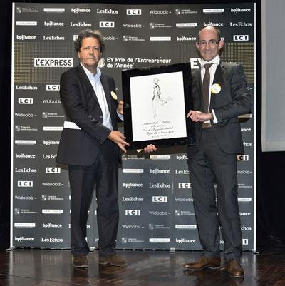 ATFGaia_PrixEngagementSocietal-bd Sylvain COUTHIER, Lauréat du Prix de l'Engagement Sociétal 2013 de la région Ile-de-France