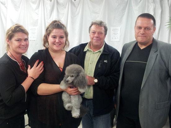 """CFBT-PaulineOlivaMAF2015 CFBT :  Pauline Oliva sacrée """"Une des Meilleures Apprenties de France"""" Toilettage canin"""