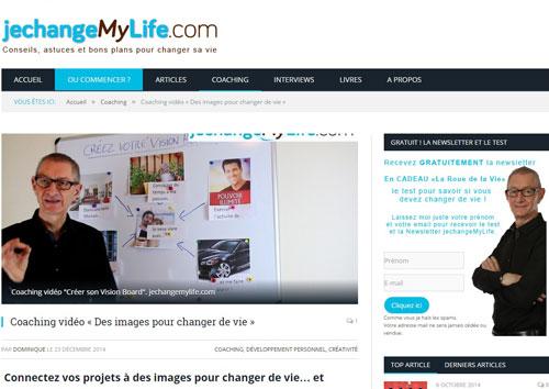 jechangemylife-ill1 Peut-on changer sa vie? Un nouveau site internet vous donne le mode d'emploi!