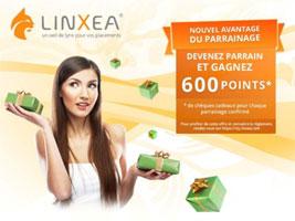 linxea-parrainage LinXea enrichit ses contrats d'assurance vie