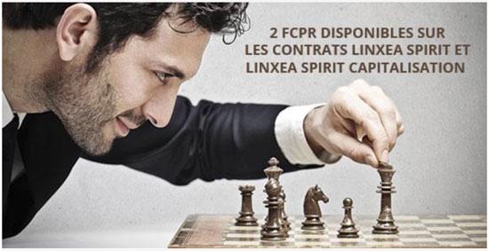 2 FCPR disponibles sur les contrats LinXea Spirit et LinXea Spirit Capitalisation